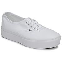 Topánky Ženy Nízke tenisky Vans AUTHENTIC PLATFORM 2.0 Biela