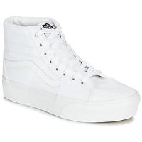 Topánky Ženy Členkové tenisky Vans SK8-HI PLATFORM 2.0 Biela