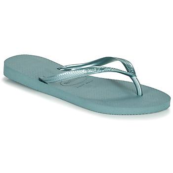 Topánky Ženy Žabky Havaianas SLIM Modrá