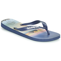 Topánky Muži Žabky Havaianas HYPE Námornícka modrá