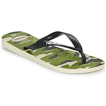 Topánky Muži Žabky Havaianas TOP CAMU Zelená