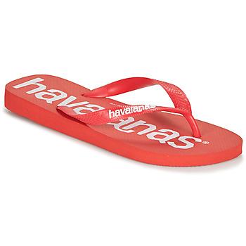 Topánky Muži Žabky Havaianas TOP LOGOMANIA Červená
