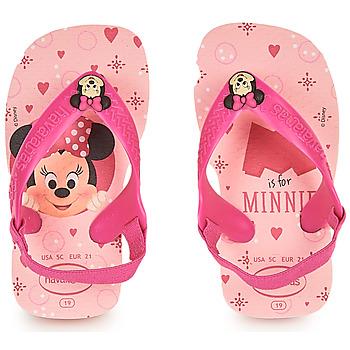 Topánky Dievčatá Žabky Havaianas BABY DISNEY CLASSICS II Ružová