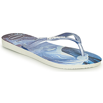 Topánky Dievčatá Žabky Havaianas KIDS SLIM FROZEN Modrá