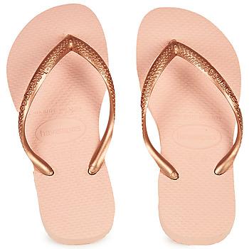 Topánky Dievčatá Žabky Havaianas SLIM Ružová