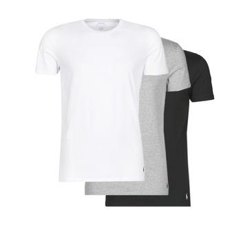 Oblečenie Muži Tričká s krátkym rukávom Polo Ralph Lauren WHITE/BLACK/ANDOVER HTHR pack de