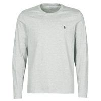Oblečenie Muži Tričká s krátkym rukávom Polo Ralph Lauren L/S CREW-CREW-SLEEP TOP Šedá