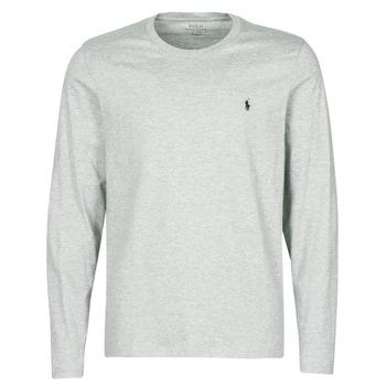 Oblečenie Muži Tričká s dlhým rukávom Polo Ralph Lauren L/S CREW-CREW-SLEEP TOP Šedá