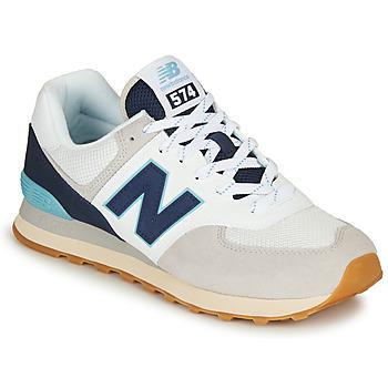 Topánky Muži Nízke tenisky New Balance 574 Šedá / Námornícka modrá