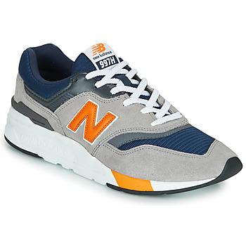 Topánky Muži Nízke tenisky New Balance CM997HEX Námornícka modrá / Šedá / Oranžová
