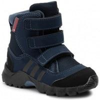 Topánky Deti Snehule  adidas Originals CW Holtanna Snow CF Čierna,Tmavomodrá