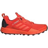 Topánky Muži Bežecká a trailová obuv adidas Originals Terrex Speed LD Oranžová
