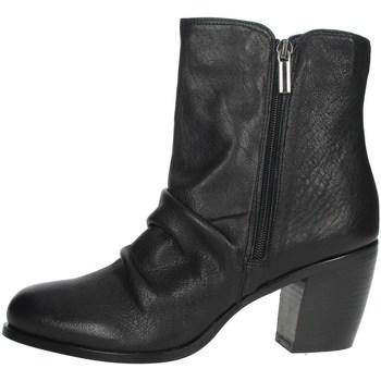 Topánky Ženy Polokozačky Elena Del Chio 5803 Black