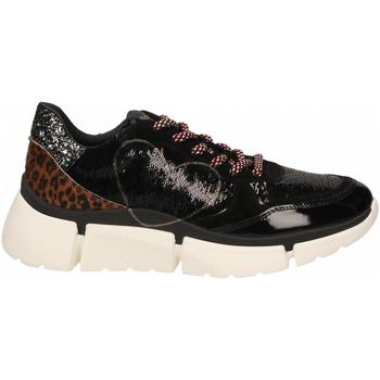 Topánky Ženy Nízke tenisky Nira Rubens STINGER RUNNING CUORE GLAM DARK nero-leopard