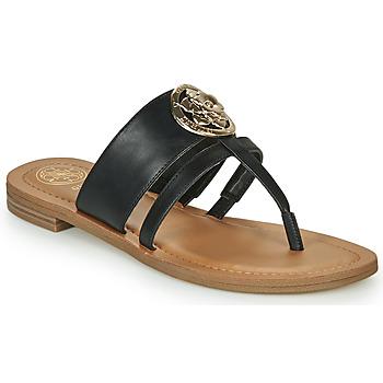 Topánky Ženy Žabky Guess GENERA Čierna