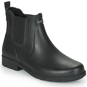 Topánky Muži Čižmy do dažďa Aigle CARVILLE Čierna