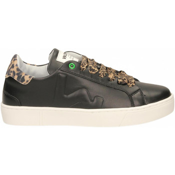 Topánky Ženy Nízke tenisky Womsh SNIK black-leopard