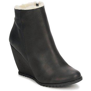 Topánky Ženy Čižmičky D.Co Copenhagen SALLY ZIPPER čierna