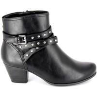 Topánky Ženy Čižmičky Jana Boots 25362-23 Noir Čierna