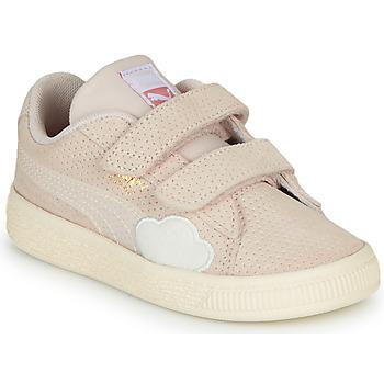Topánky Dievčatá Nízke tenisky Puma SUEDE Ružová