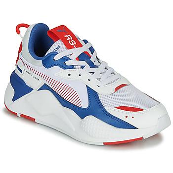 Topánky Deti Nízke tenisky Puma RS-X Biela / Modrá / Červená