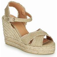 Topánky Ženy Sandále Castaner BROMELIA Zlatá