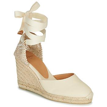 Topánky Ženy Sandále Castaner CARINA Krémová
