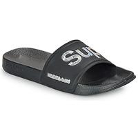 Topánky Ženy športové šľapky Superdry HOLO INFIL POOL SLIDE Čierna