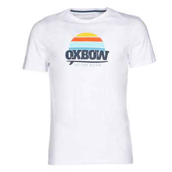 Oblečenie Muži Tričká s krátkym rukávom Oxbow M1TEKSO Biela
