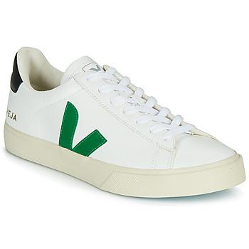 Topánky Nízke tenisky Veja CAMPO Biela / Zelená / Čierna