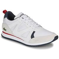 Topánky Muži Nízke tenisky Lacoste AESTHET 120 2 SMA Biela / Modrá / Červená