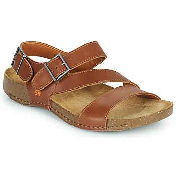 Topánky Sandále Art I BREATHE Hnedá