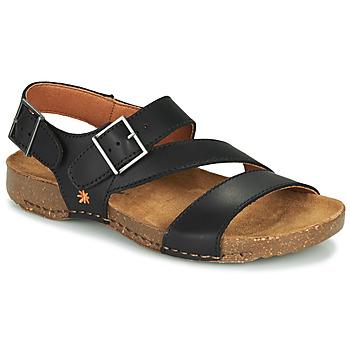 Topánky Sandále Art I BREATHE Čierna