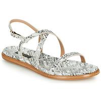 Topánky Ženy Sandále Neosens AURORA Biela / Strieborná