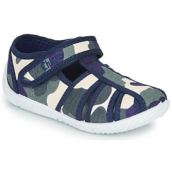 Topánky Chlapci Papuče Chicco TULLIO Modrá / Biela