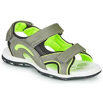 Topánky Chlapci Športové sandále Chicco CEDDER Šedá / Zelená