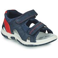 Topánky Chlapci Športové sandále Chicco FLORIAN Námornícka modrá / Červená