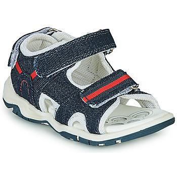 Topánky Chlapci Športové sandále Chicco COLBY Modrá / Červená