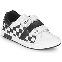 Topánky Chlapci Nízke tenisky Chicco CANDITO Biela / Čierna