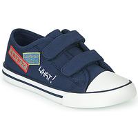Topánky Chlapci Nízke tenisky Chicco COCOS Námornícka modrá / Biela
