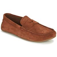 Topánky Muži Mokasíny Clarks REAZOR PENNY Ťavia hnedá