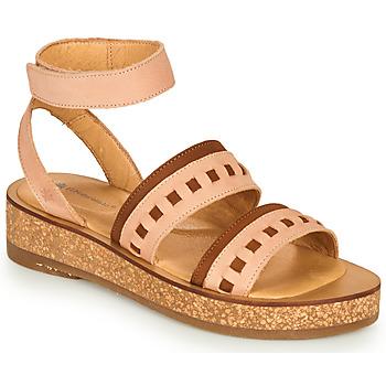 Topánky Ženy Sandále El Naturalista TÜLBEND Ružová / Hnedá