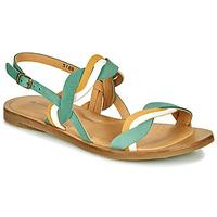 Topánky Ženy Sandále El Naturalista TULIP Zelená / Žltá / Biela