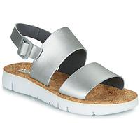 Topánky Ženy Sandále Camper ORUGA Strieborná