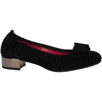 Topánky Ženy Balerínky a babies Le Babe CAMOSCIO nero