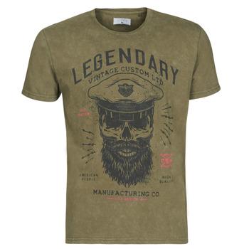 Oblečenie Muži Tričká s krátkym rukávom Yurban MCOOL Kaki
