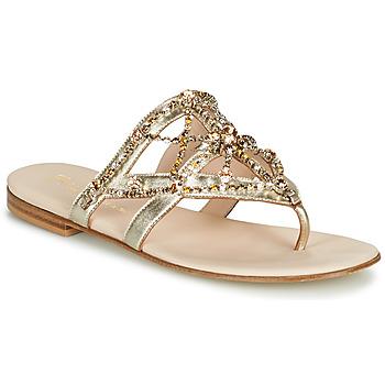 Topánky Ženy Žabky Fru.it CAROTE Zlatá