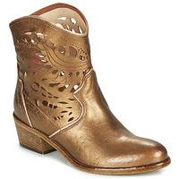 Topánky Ženy Čižmičky Fru.it COWGOLD Bronzová