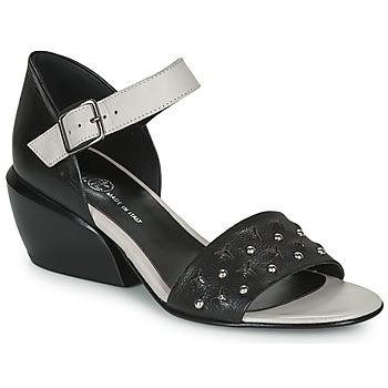 Topánky Ženy Sandále Fru.it LEMMINE Čierna / Biela