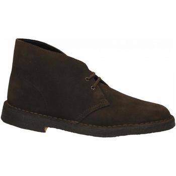 Topánky Muži Polokozačky Clarks DESERT BOOTS brown